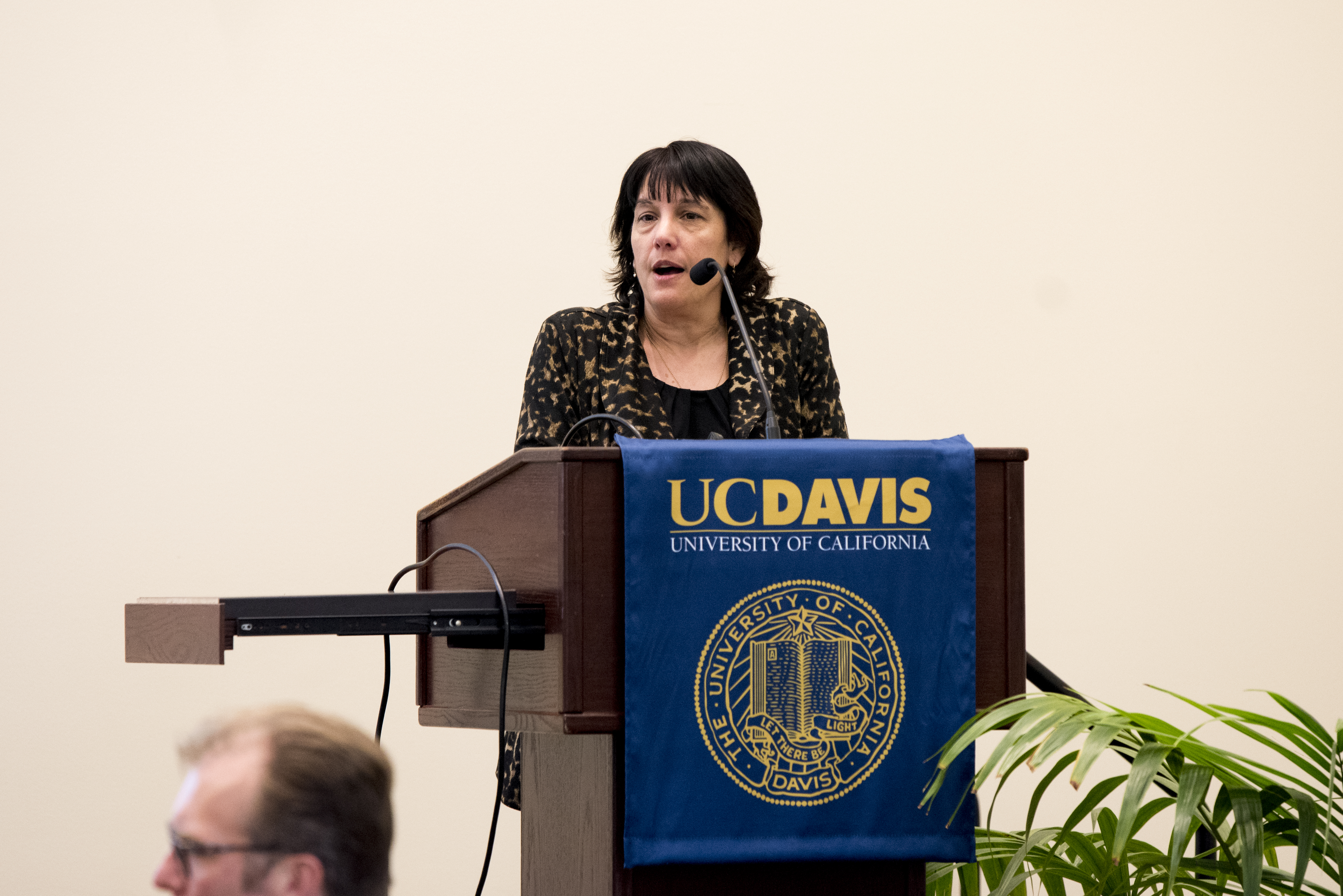 Dr. Sheila David, Professor of Chemistry and Chair, Miller Symposium Committee